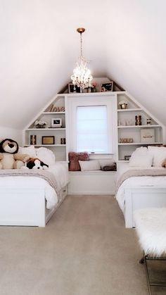 Schlafzimmer Dekor 40 Sweet and Girly Bedroom Decor Idea for Teen - Bedroom Decor and Design - Girly Bedroom Decor, White Bedroom, Teen Bedroom, Modern Bedroom, Master Bedroom, Contemporary Bedroom, Master Suite, Couple Bedroom, Bedroom Art