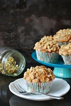 Muffinki dyniowe z orzechami