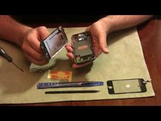 how to replace broken iPhone glass