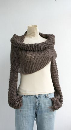 Wrap Bolero Scarf Shawl Neckwarmer from Etsy...