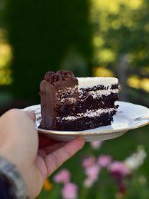 Pradobroty: Dort s extra kakaovým korpusem a pařížským a vanilkovým krémem Cheesecake, Chocolate Cakes, Tarts, Food, Mince Pies, Pies, Cheese Pies, Cheesecakes, Meals