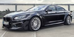 Pearl Black BMW PD6XX Gran Coupe by Prior-Design
