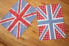 Union Jack blocks