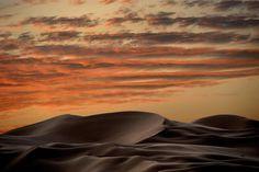 Sunset over the dunes - Liwa Desert UAE
