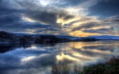 Loch Awe, Scotland. Whoever thought winter could be so beautiful? (Photo by John Elliott via G+ & Picasa!)