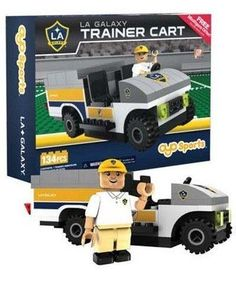 LA Galaxy Trainer Cart Oyo Sports New in Box MLS NIB 134 Pcs Soccer Los Angeles