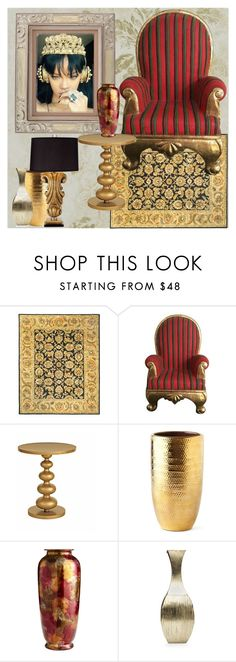 """Home Deor"" by nefertiti1373 on Polyvore featuring interior, interiors, interior design, home, home decor, interior decorating, Safavieh, Redford House, AERIN and Pier 1 Imports"