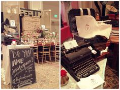 Black and white striped wedding inspiration by PEPLUM events Bridal Show Booth