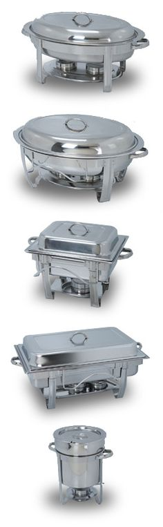 Horizon Chafers from Polar Ware - perfect for buffets, catered events and hotel continental breakfasts.