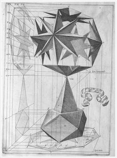 A Renaissance-Era Textbook With Gorgeous Illustrations For Teaching Drawing Perspective, Teaching Drawing, Renaissance Era, Math Art, Sacred Geometry, Art Techniques, Geometric Shapes, Art Images, Illustrations