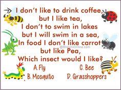 Logical Riddle: I Don't Like To Drink Coffee, But I Like Tea - BhaviniOnline.com