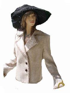 Apart Blazer beige braun meliert Gr 42 (5643)Willkommen im  www.Chelsea-Fashion-Glamur.de  Shop Secondhand und Neuware Mode zu günstigen Preisen   Dies und Das für jeden was.....