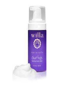 Willa Start Fresh - foaming face wash 5.1 fl. oz. for $15 @birchbox   http://www.birchbox.com/shop/willa-foaming-cleanser  Willa is a natural skincare brand created by a young daughter and mother! Their goal was to create a skincare line safe to use for pre-teens which means no harsh chemicals for any user's skin, regardless of age!  This cleanser foams without water and removes make-up and is made without paraben, DEA, sulfate, and phthalate - YAY!  #natural #skincare #cleanser #willa