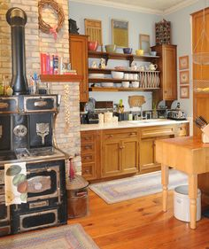 Antique kitchen, 1880s home