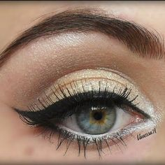Perfect Cat Eyeliner - Crash Course #beauty #eye #shadow #make #up #sexy #glam #pretty #cat