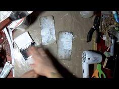 7 Dots Studio Mixed Media Background Tutorial - YouTube