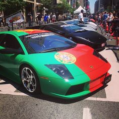 #Toronto is hosting a #kickass #car show. Like right now on Bloor street.
