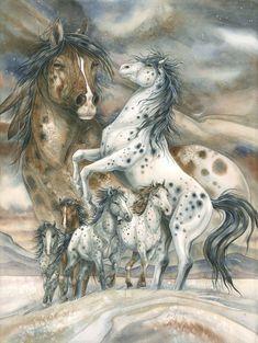 Bergsma Gallery Press::Paintings::Nature::Horses::Unbridled Spirit - Prints