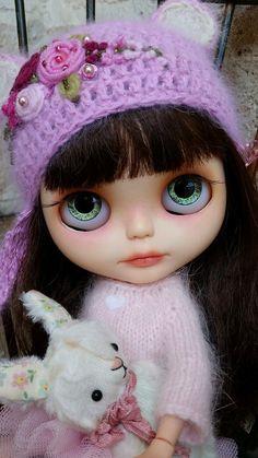 Beautiful Custom Blythe Doll OOAK Eve by Sandra Efigenio   eBay