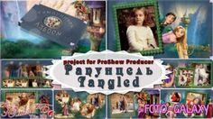 Детский проект для ProShow Producer -  Рапунцель