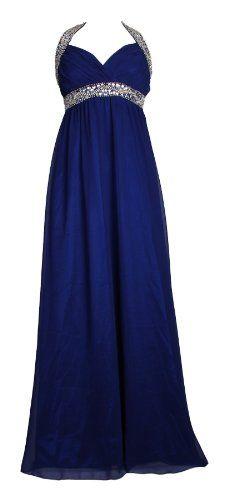 Long Elegant Halter Neck Evening Gown Summer Maxi Dress - Maxi Dress