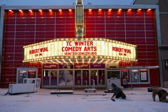 Winter Comedy Festival #traversecity #tcff
