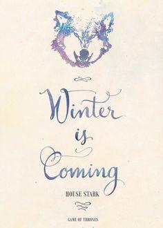 House Stark: Winter is Coming - Earthlightened