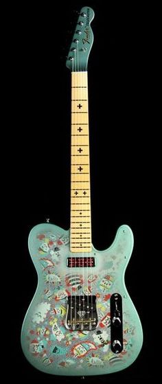 Fender Telecaster in Spirit Paisley, Masterbuilt Todd Krause