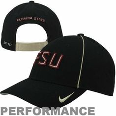 Florida State Seminoles 2013 Coaches Adjustable Performance Hat