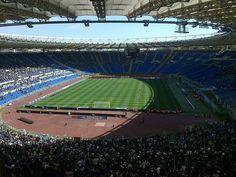 Stadio Olimpico in Rome - both Roma, and Lazio play here