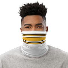 Pittsburgh Football Away Stripe Neck Gaiter - White