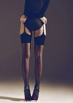 stockings & garter