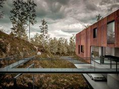 Casa moderna para un fotógrafo diseño de Hyde Hyde Architects