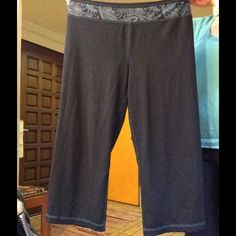 Mid length active pants Great pants! Strength, over the knee.  Perfect for running, yoga, etc. Pants Track Pants & Joggers