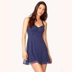 Halter, Flared Mini Dress, Like New!