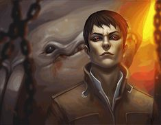 The Outsider by Vrihedd | Very good job, except his eyes are black.