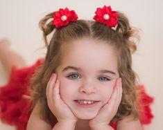 Minnie Mouse Hair Bows Nursery School Disney Cute Pigtails New Bargain