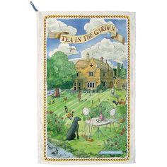 Emma Bridgewater  Tea in The Garden Tea Towel for £10.00 #fabfind