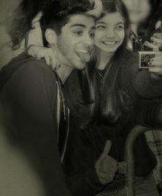 Edited photo of Zayn Malik and me. From Picmonkey Editor