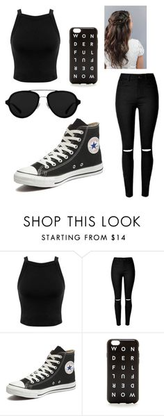 """""""Untitled #47"""" by rachelsi on Polyvore featuring Miss Selfridge, Converse, J.Crew and 3.1 Phillip Lim"""