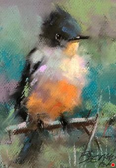 by Mike Beeman Pastel ~ 8 x 6 Bird Painting Acrylic, Watercolor Bird, Pastel Artwork, Bird Artwork, Paintings I Love, Animal Paintings, Horse Paintings, Pastel Paintings, Unique Drawings