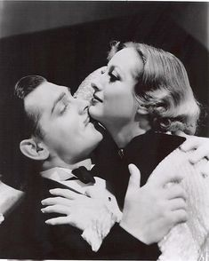 Clark Gable and Joan Crawford in Dancing Lady 1933 Hollywood Men, Golden Age Of Hollywood, Vintage Hollywood, Hollywood Glamour, Classic Hollywood, Hollywood Couples, Hollywood Icons, Classic Actresses, Classic Movies