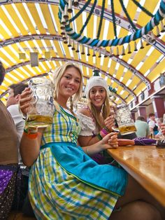 The REASON to go to Oktoberfest is the delicious and refreshing beer....and I'm sticking to that!