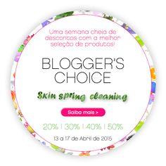 Amostras e Passatempos: Mais um Blogger's Choice na SKIN