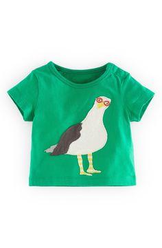'Big Appliqué' Cotton T-Shirt (Baby Boys)