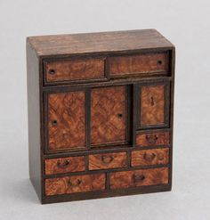 Tea Storage, Japanese Furniture, Tea Box, Tiny World, Miniatures, Japan Style, House Design, Asian, Organization Ideas