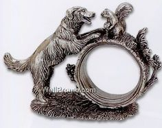 Reed and Barton silver napkin rings 1824 collection
