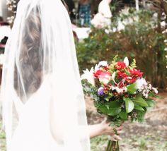 Wedding bouquet from Field of Flowers <3