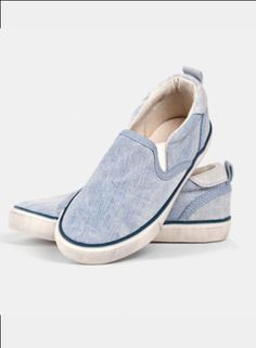 I Dig Denim Trest Shoe - Blue Washed - Toddlers and Tees