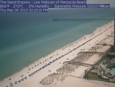 The Island Empress Webcam Pensacola Beach, Cheap Web Hosting, Ecommerce Hosting, Beaches, Island, Frame, Water, Outdoor, Picture Frame